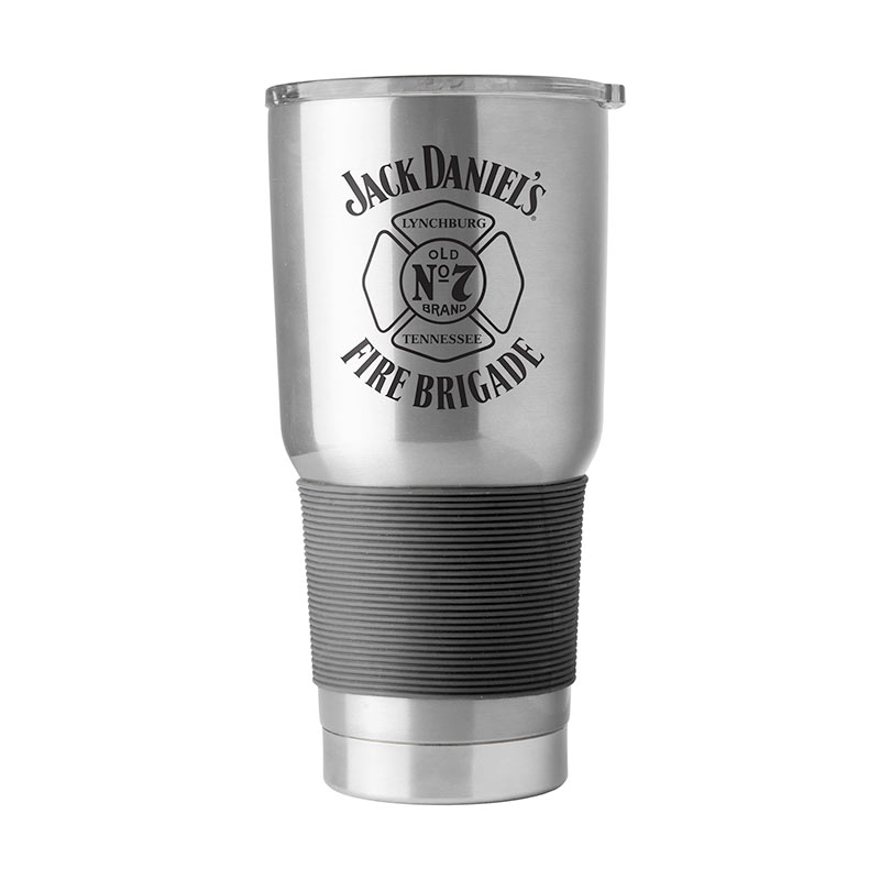 Jack Daniel's Old No. 7 Fire Brigade 30oz Stainless Travel Mug