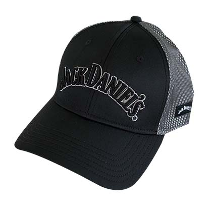 Jack Daniels Grey Two-Tone Hat