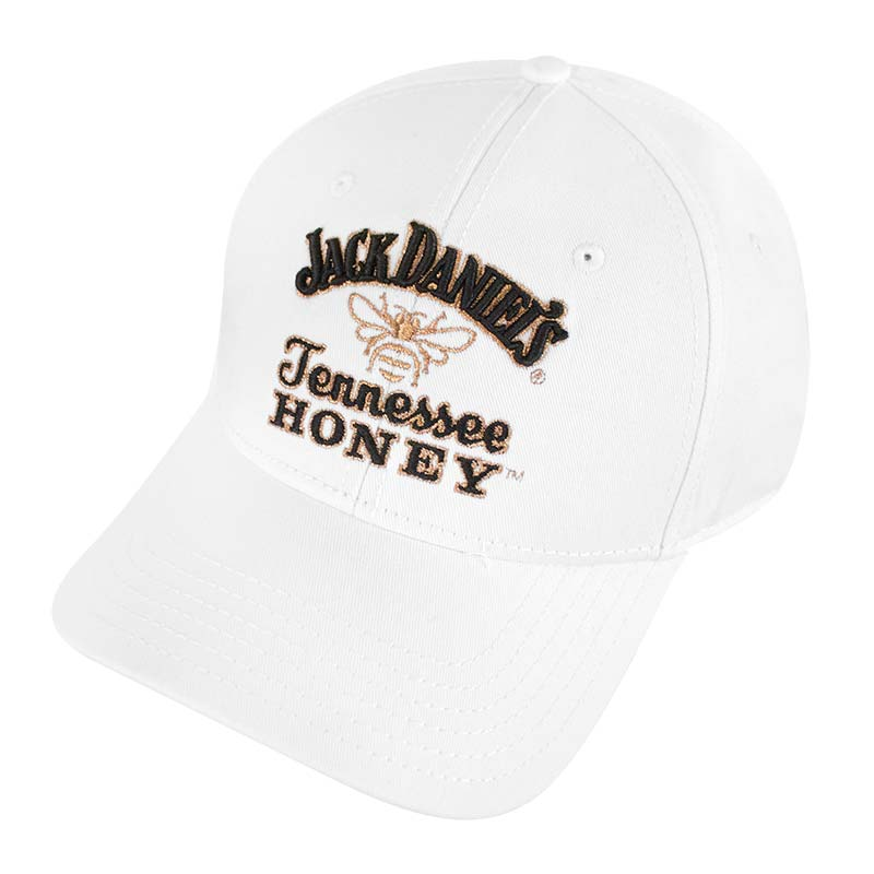 Jack Daniels Adjustable White Tennessee Honey Logo Hat