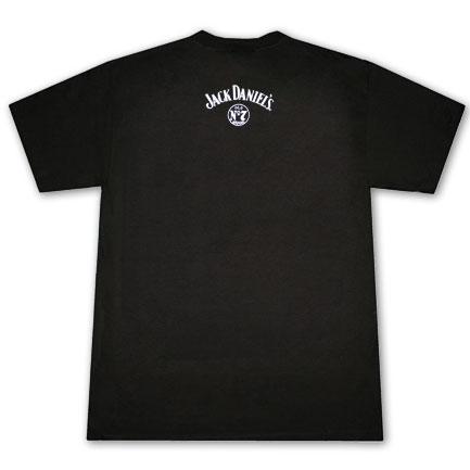 Jack Daniel's 'Jack Lives Here' Old. No 7 Logo Tshirt