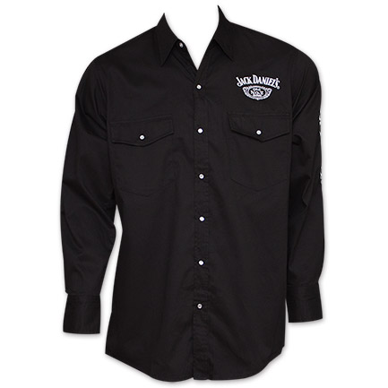 Jack Daniel's Long Sleeve Dress Shirt