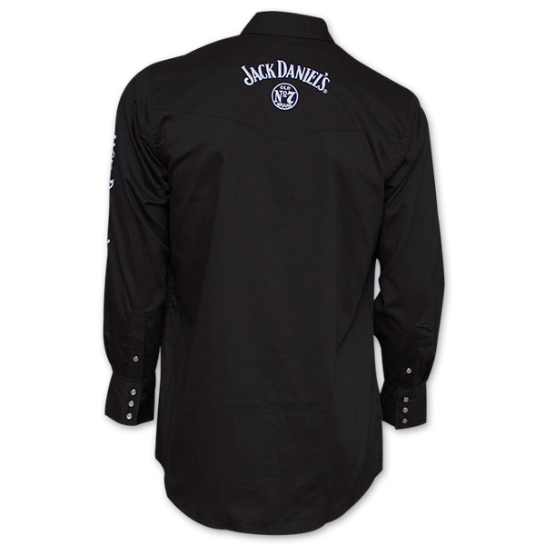 Jack Daniel's Long Sleeve Button Up Shirt