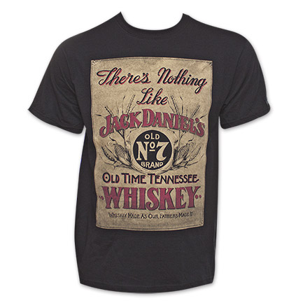 "Jack Daniel's ""Nothing Like"" Old No. 7 Tennessee Whiskey Tshirt"