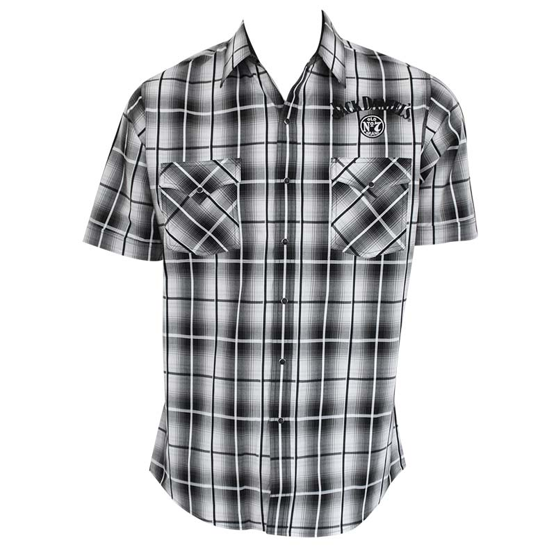 33f2a64bdbcc Jack Daniels OldNo7 Plaid Shortsleeve Button Shirt POP.jpg