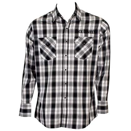 Jack Daniels Checkered Button Down Shirt