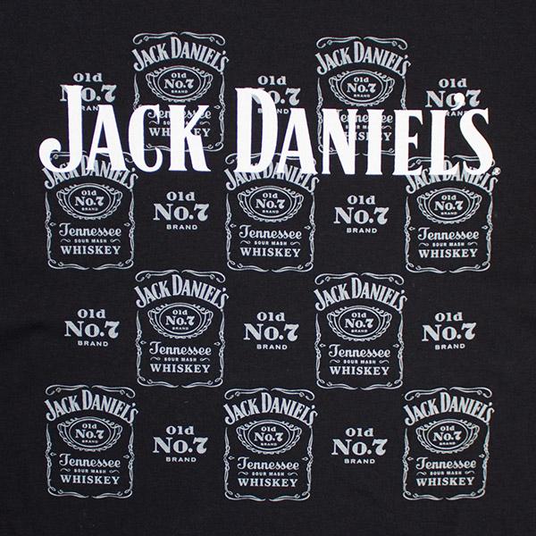 Jack Daniel's Old No. 7 Logo All Over Print Men's Tee