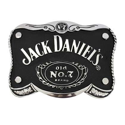 Jack Daniels Black Old No. 7 Belt Buckle