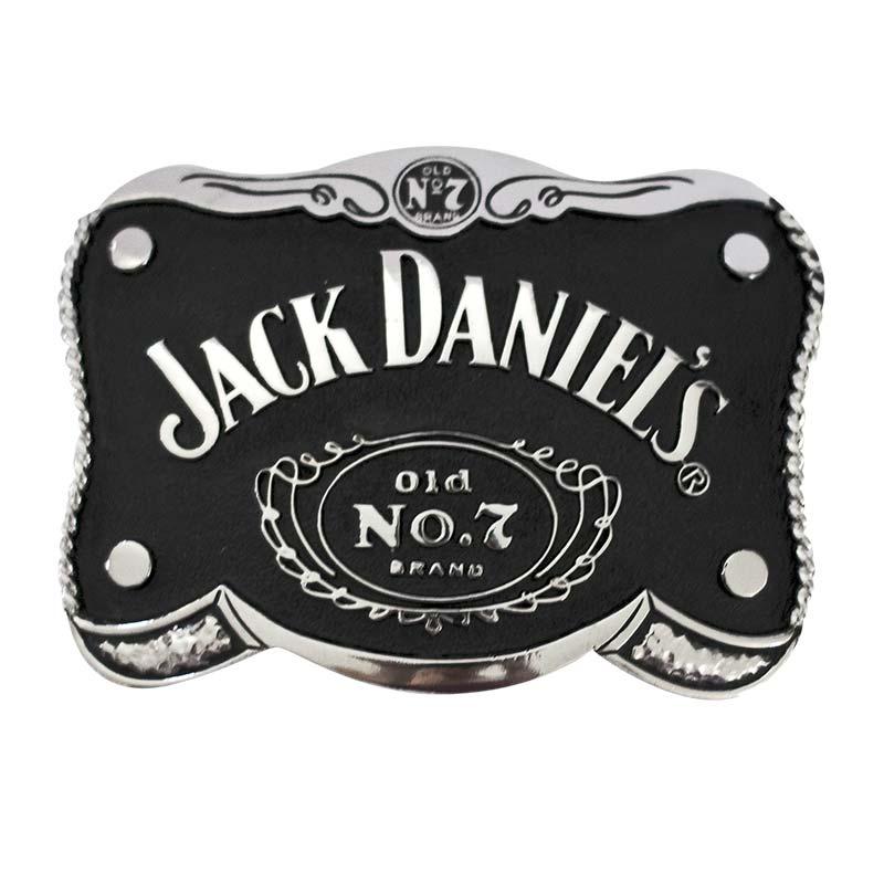 Jack Daniels Black Old No. 7 Belt Buckle