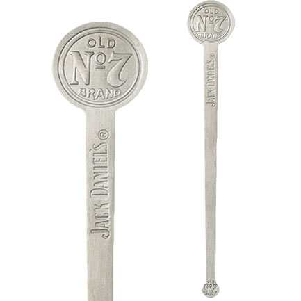 Jack Daniels Old No. 7 Metal Swizzle Stick