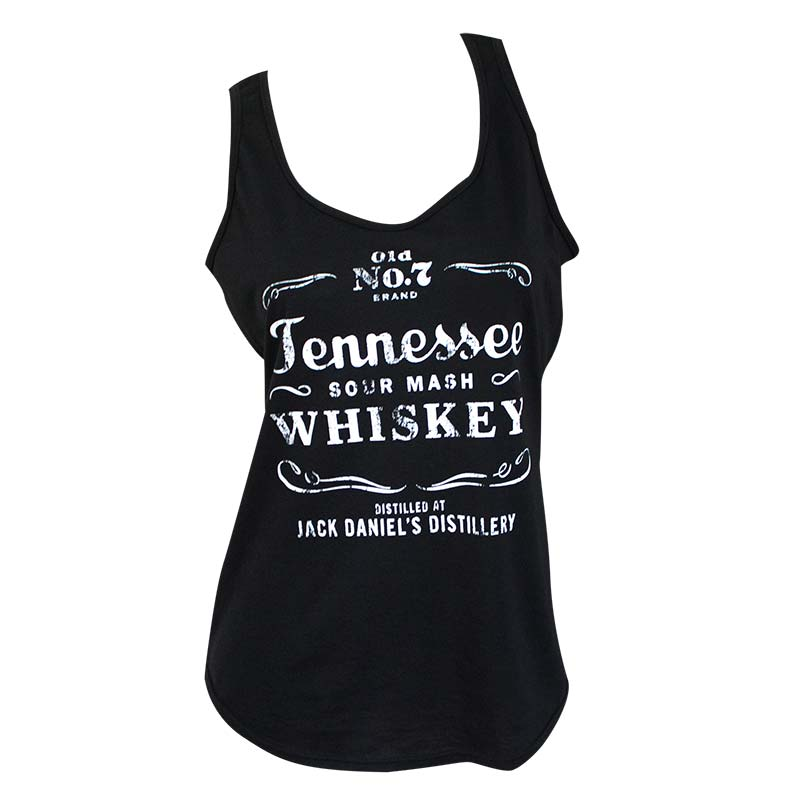 c0dd08aa106c92 Jack Daniels Women s Black Tennessee Whiskey Tank Top