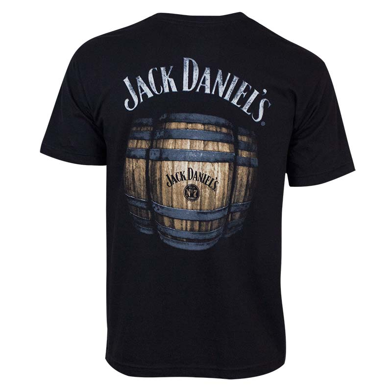 Jack Daniels Men's Black Barrel T-Shirt