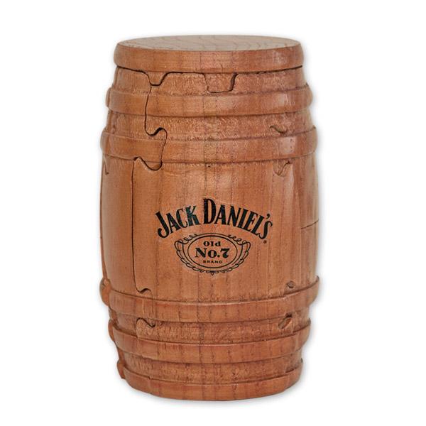 Jack Daniel's Whiskey Barrel Wooden Puzzle