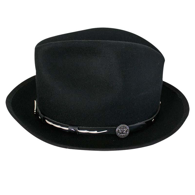 Jack Daniels Wool 2 Inch Brim Hat