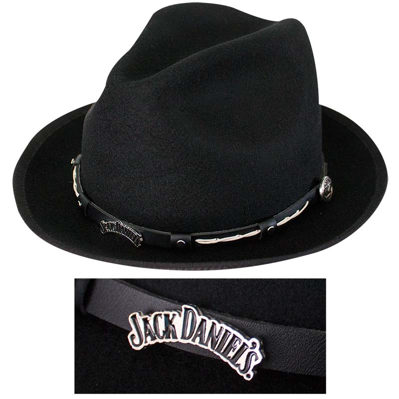 Jack Daniels Wool Water Repellent Brim Hat