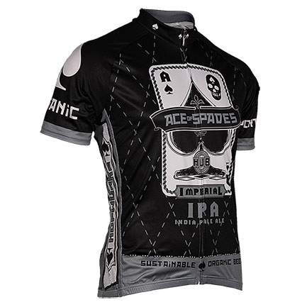 Hopworks Ace Of Spades Men's Black Cycling Jersey