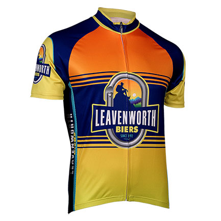 Leavenworth Biers Zip-Up Cycling Jersey