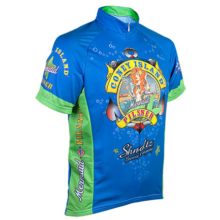 Coney Island Pilsner Zip-Up Cycling Jersey