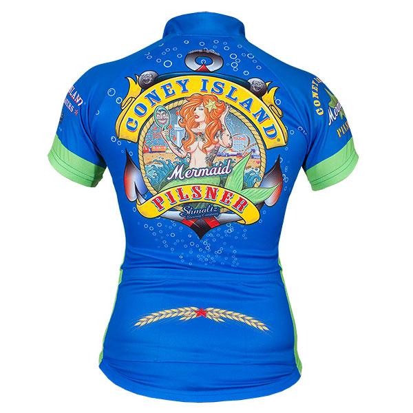 Coney Island Pilsner Women S Mermaid Cycling Jersey