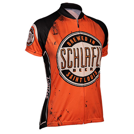 Schlafly Brewing Company Women's Zip-Up Cycling Jersey