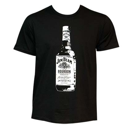 Jim Beam Bottle T-Shirt