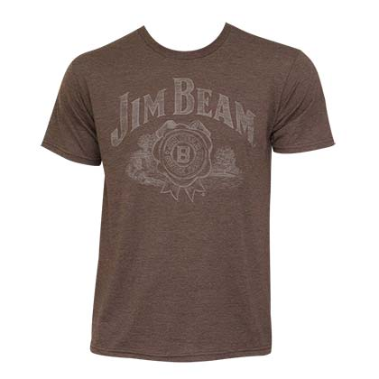 Men's Jim Beam Brown Tee Shirt