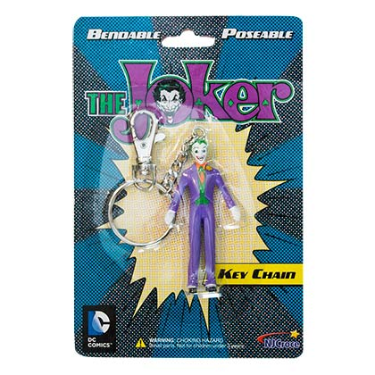 Joker Bendable Keychain