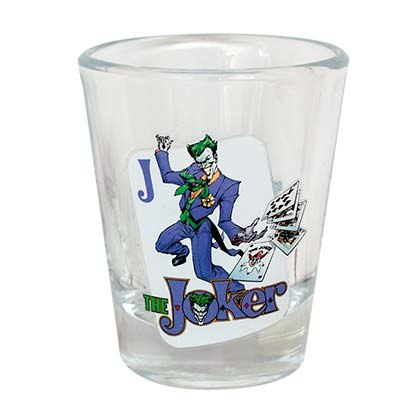 The Joker Shot Glass