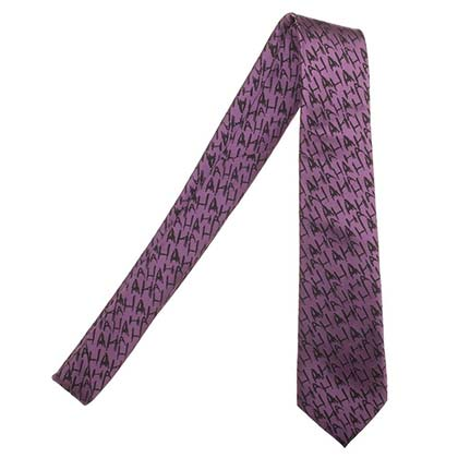 The Joker Purple HAHA Neck Tie