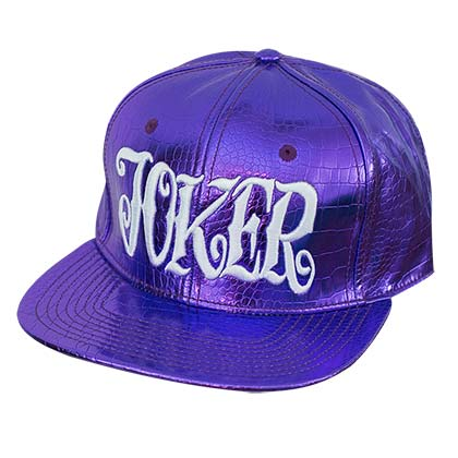 Suicide Squad Shiny Purple Joker Hat