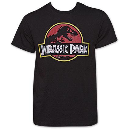 Jurassic Park Classic Movie Logo T-Shirt