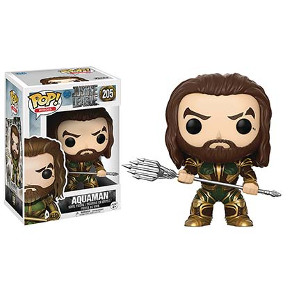 Justice League Funko Vinyl Aquaman Figure