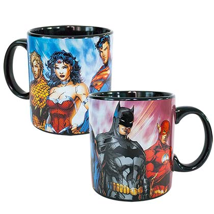 Justice League Superheroes 20oz Mug