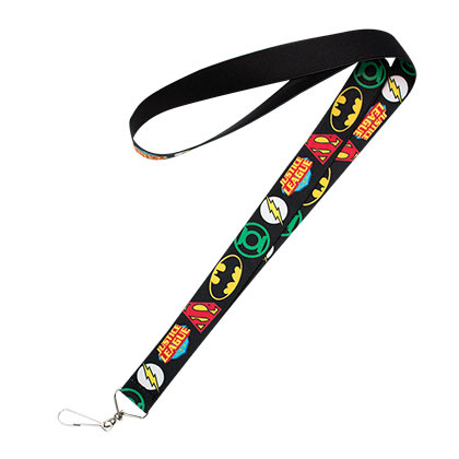 Justice League Black Lanyard