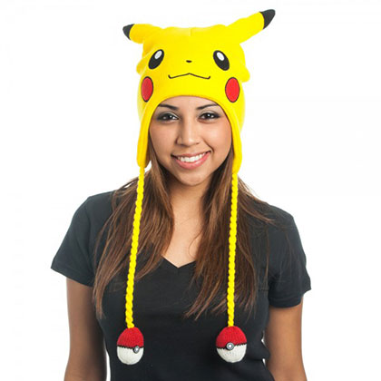 Pokemon Pikachu Yellow Laplander Hat