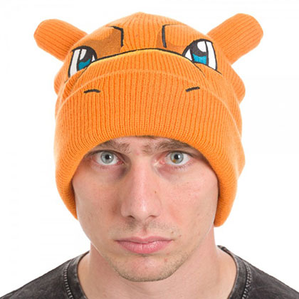 Pokemon Winter Charizard Hat
