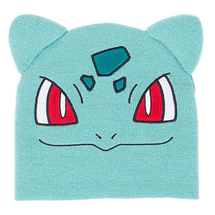 Pokemon Teal Bulbasaur Winter Beanie