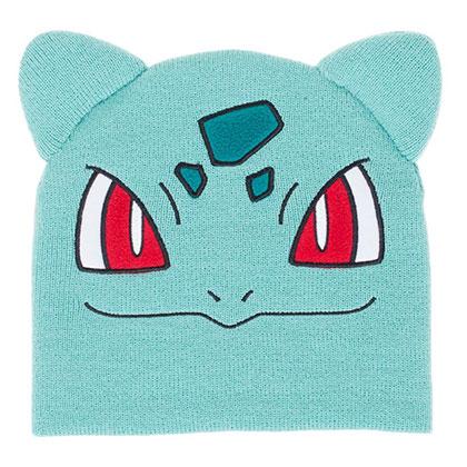 Pokemon Bulbasaur Teal Beanie