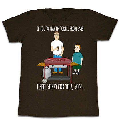 King Of The Hill Grillin T-Shirt