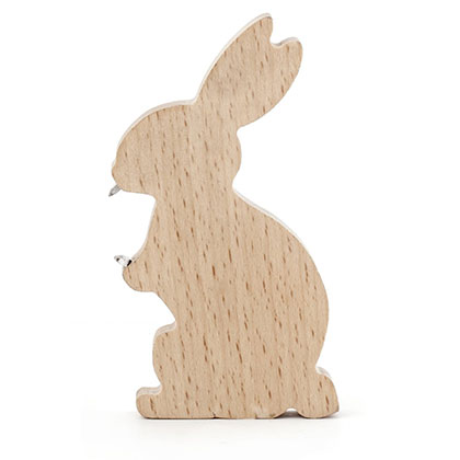 Wooden Rabbit Bottle Opener