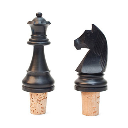 Chess Piece Bottle Corks