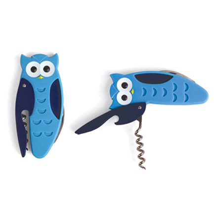 Owl Corkscrew & Bottle Opener