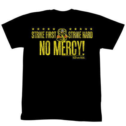 Karate Kid No Mercy Cobra T-Shirt