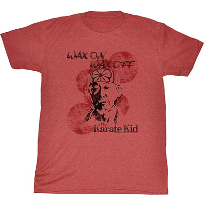 Karate Kid Wax On Miyagi T-Shirt