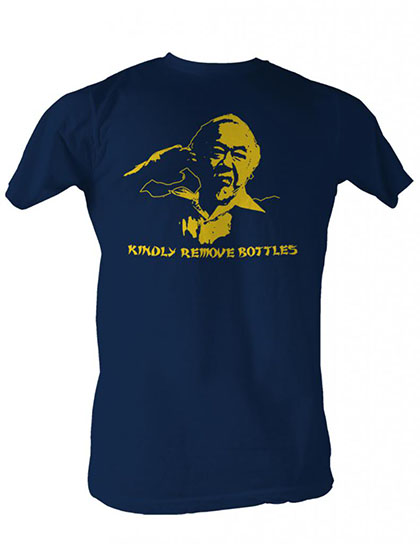 Karate Kid Kindly Remove Bottles T-Shirt