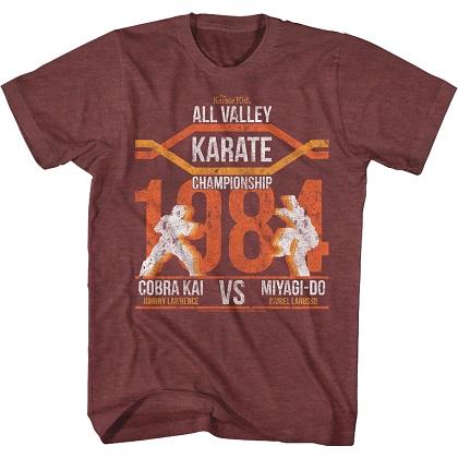 Karate Kid Championship 1984 Tshirt