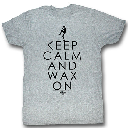 Karate Kid Keep Calm T-Shirt