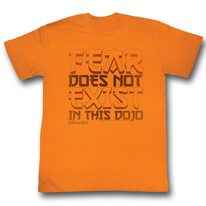 Karate Kid Fear T-Shirt