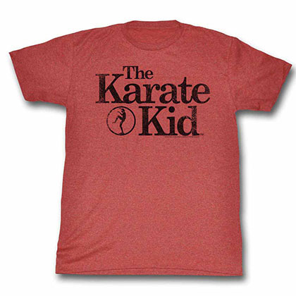 Karate Kid Logo Red TShirt