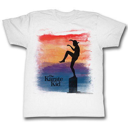 Karate Kid Brush T-Shirt