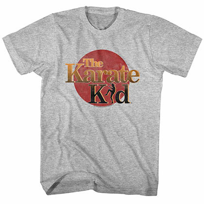 Karate Kid The Kid Gray TShirt